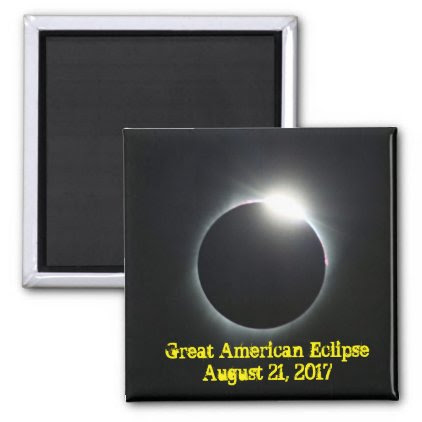 Great American Eclipse Magnet