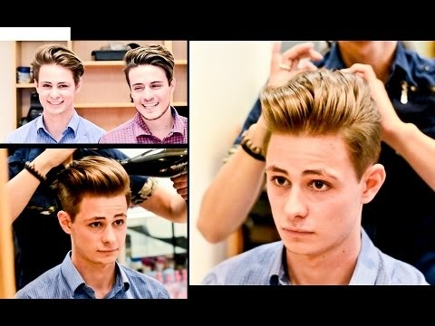 David Beckham Haircut Style Mens Hair Tunsori Barbati