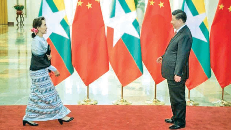 Chinese President Xi Jinping will meet with Myanmar State Counsellor Aung San Suu Kyi during his forthcoming visit to Myanmar.
