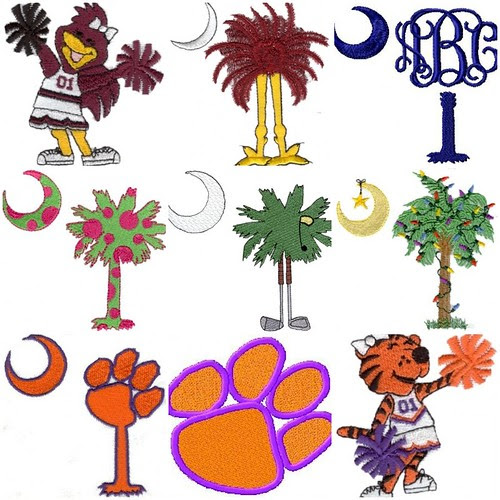 South Carolina Palmetto Designs