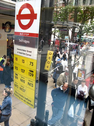 Selfridges Bus Stop