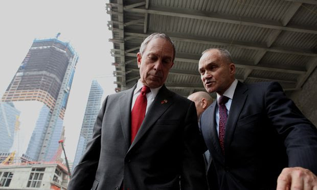 Mayor Michael Bloomberg and NYPD Commissioner Ray Kelly
