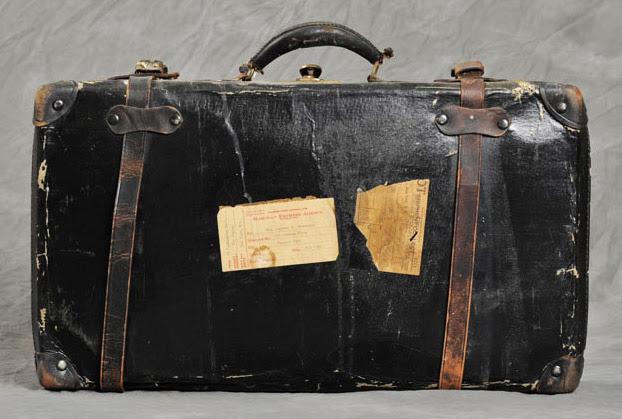 Clarissa's suitcase.