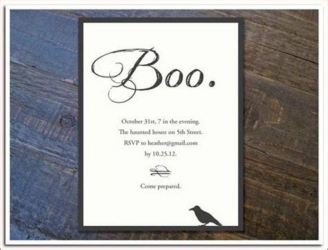 Printable Halloween Wedding Invitations, Ideas and Inspiration