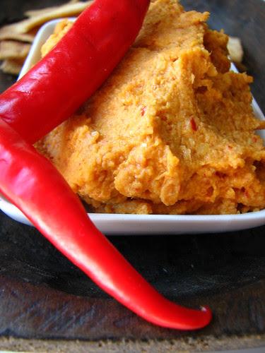 Thai Curry Coconut Hummus