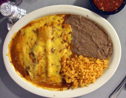 Enchiladas at Los Vega