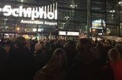 Polisi Belanda Tembak Pria Berpisau di Bandara