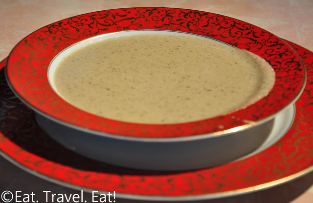Sesame Grill: Cream of Mushroom Soup