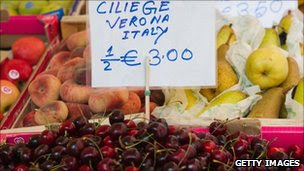 High taxes in Italy increased prices and the cost of living