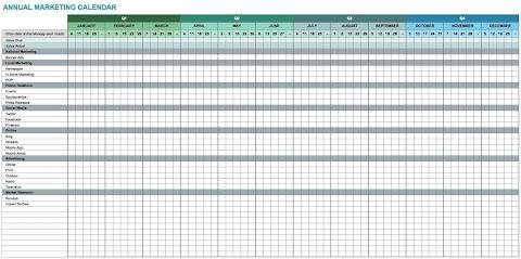 Kalender 2020 Excel Download