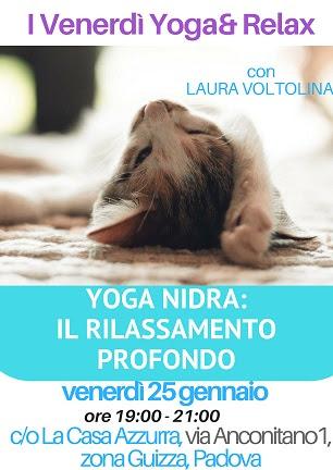 Yoga Nidra: il Rilassamento Profondo