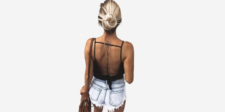 14 Ideas Para Hacerte Un Tatuaje Delicado Y Sexy En La Espalda