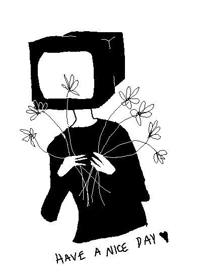 tv head  snekkendeviantartcom  atdeviantart
