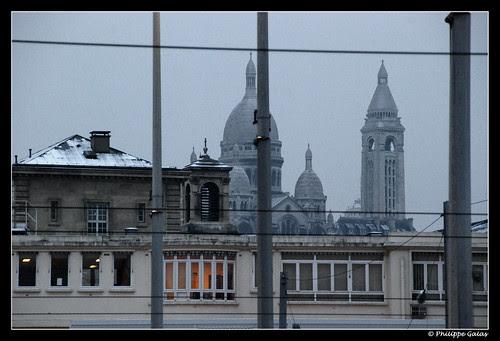 Sous la neige - PARIS