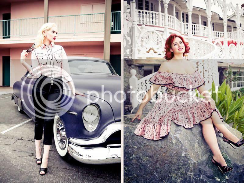 vintage retro inspired clothing lena hoschek spring summer 2011