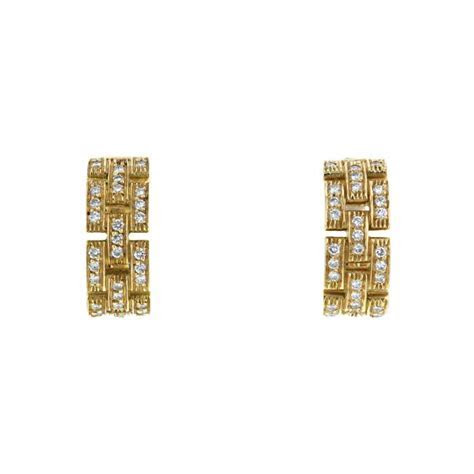 Cartier Maillon Panthère Earring 330063   Collector Square