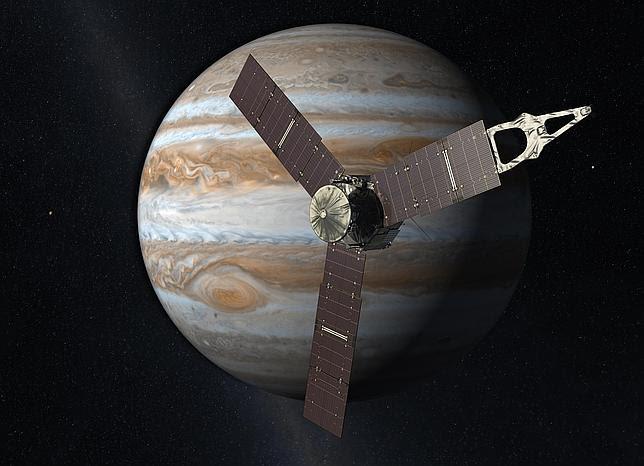 Una nave utilizará mañana la Tierra como «tirachinas» para volar a Júpiter