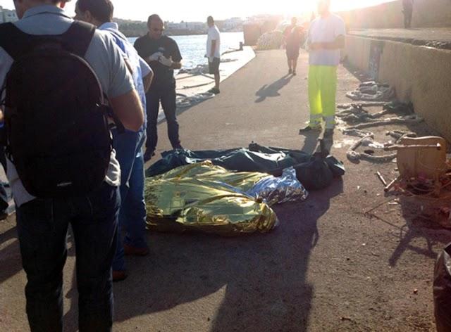 Recuperan en Túnez cadáveres de migrantes ahogados