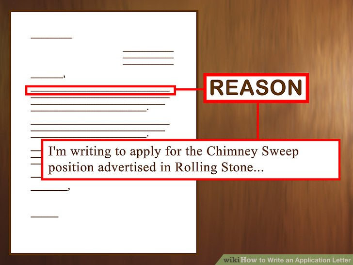 3 Ways To Write An Application Letter Wikihow