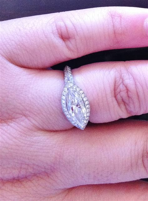 North South East West Setting Engagement Ring   Engagement