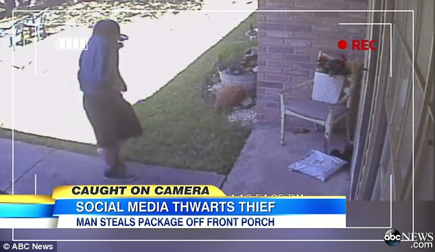 Image result for People From Stealing Packages Doorsteps