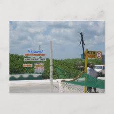 Cozumel Shopping Postcard postcard