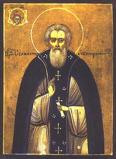 img ST. SYLVESTER, the Abbot of Obnora