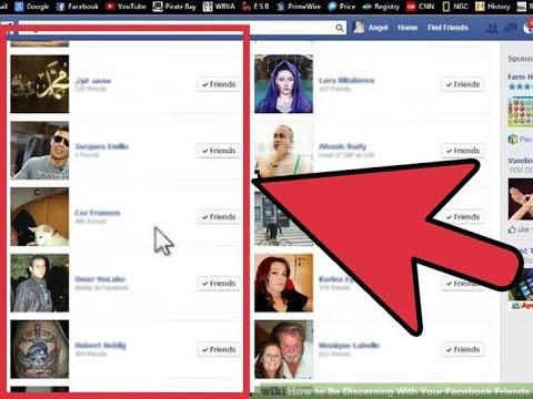 كيفية اخفاء الاصدقاء في الفيس بوك من الموبايل او الكمبيوتر