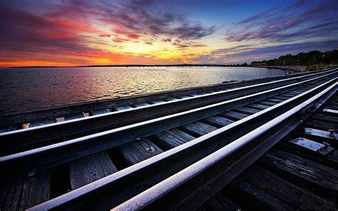 gambar gambar rel kereta api keren