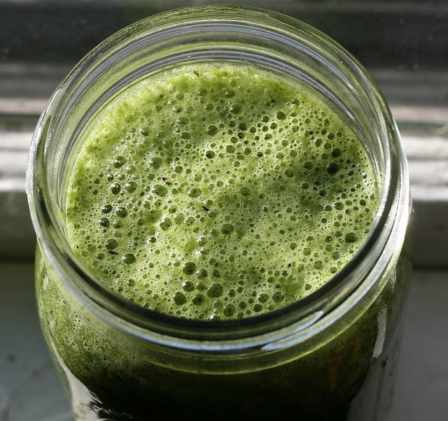 green smoothie - day 5