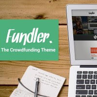 Fundler: A free (though premium) WordPress theme for crowdfunding sites