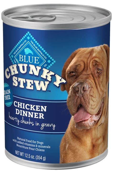 blue buffalo blue grain  chunky stew chicken dinner