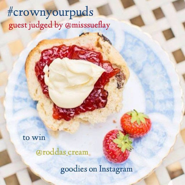 Crown Your Puds with Rodda's