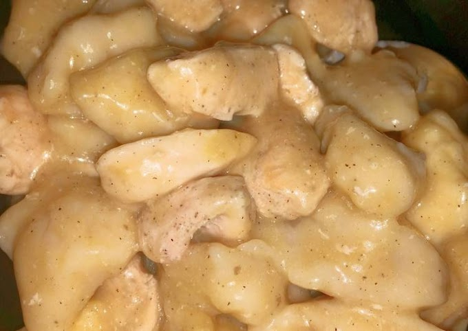 Simple Way to Make Homemade Simple Creamy Chicken and Dumplings