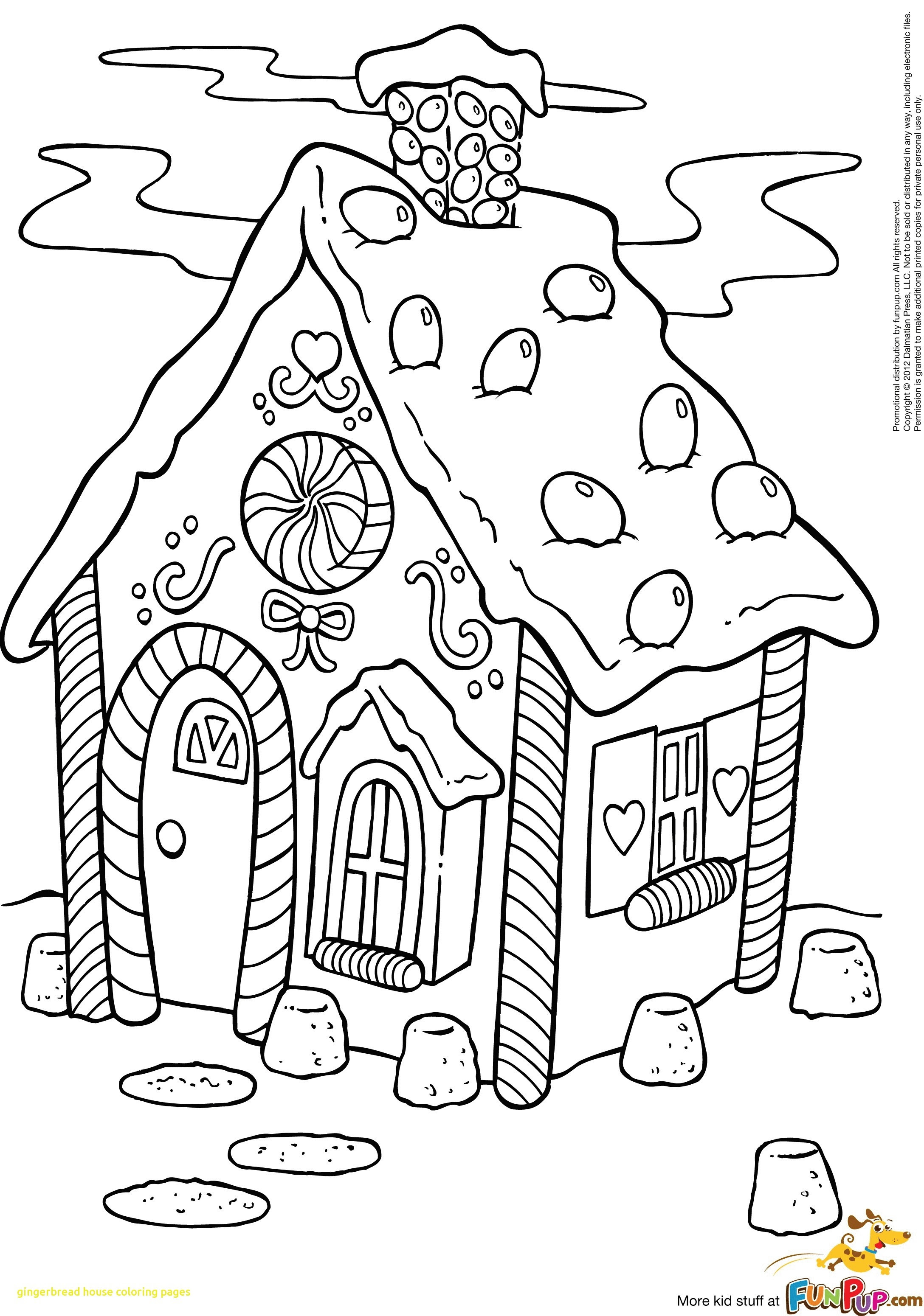 Gingerbread Man House Coloring Pages at GetColorings.com ...