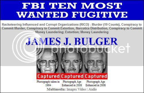 Whitey Bulger Captured!
