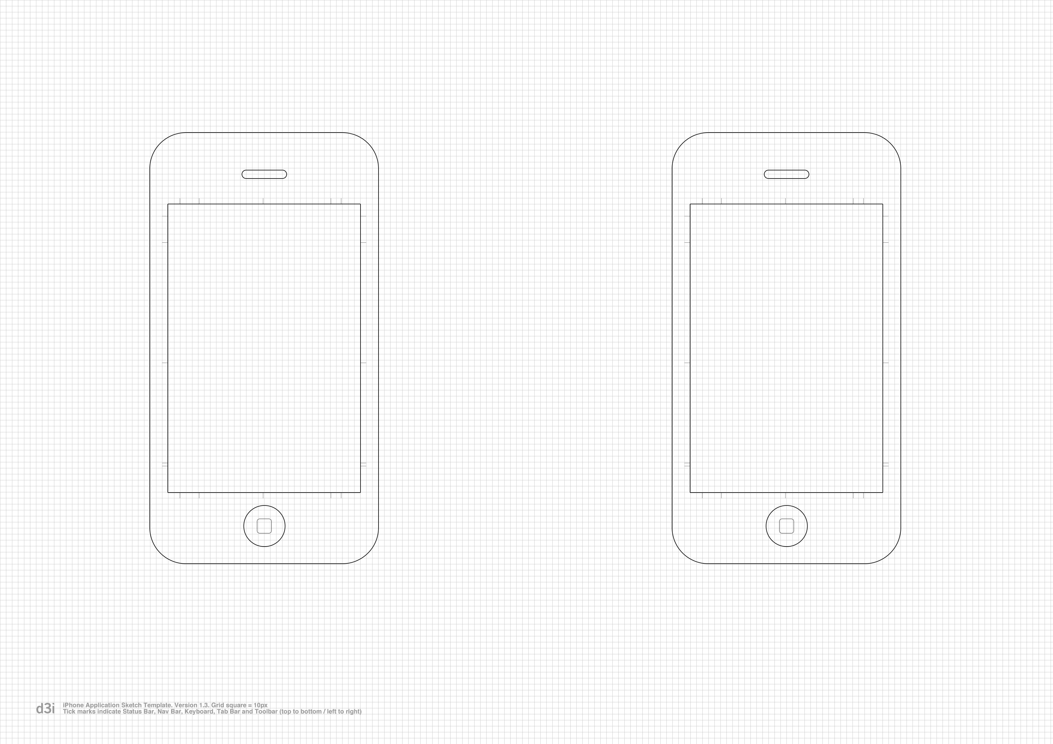 Iphone Application Sketch Template V1 3 Heres The