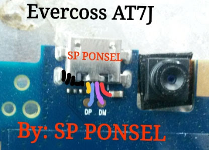 Evercoss AT7J Winner S2 Usb Charging Problem Solution Jumper Ways