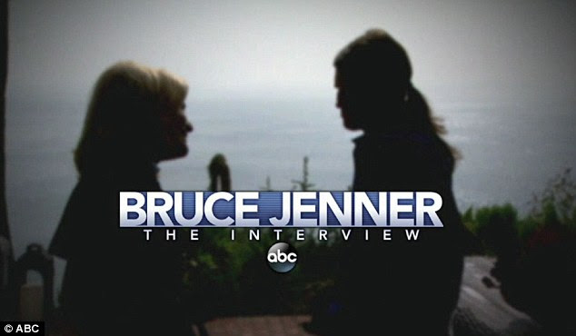 First look: On Thursday night ABC released the first teaser for Diane Sawyer's highly anticipated interview with Bruce Jenner