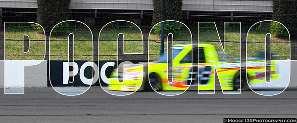 July 30 - NASCAR Truck Series hits the track at Pocono for the first time in series history.