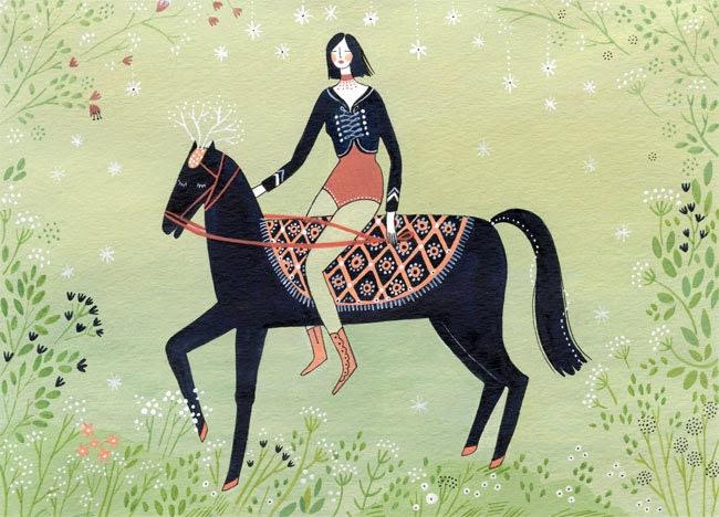 the rider (print)