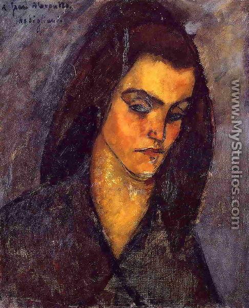 Beggar Woman - Amedeo Modigliani