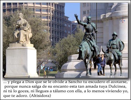 Asuntos de amor y burlas en Don Quijote