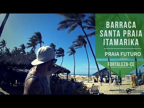 Fortaleza Barraca Santa Praia e Barraca Itamarika na Praia do Futuro