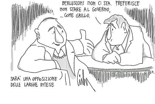 Opposizione delle Larghe Intese by Livio Bonino
