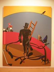 Edouardo Arroyo 'Madrid - París - Madrid', 1984, Museo Municipal de Arte Contemporáneo, Madrid