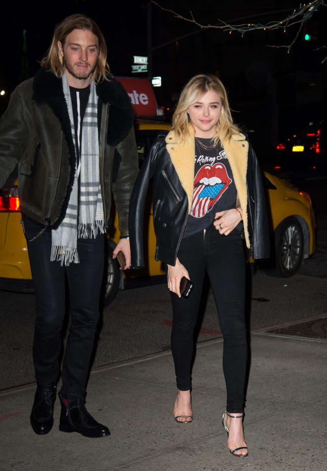 Chloe Moretz out for Dinner in NY -02
