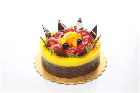 Mango Passion Fruit Mousse Cake ? Saint Germain Bakery ON