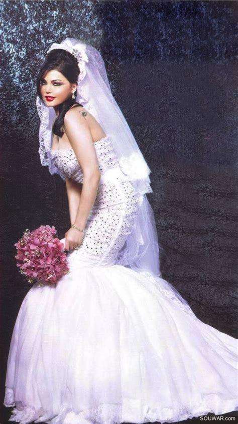 Haifa wehbe wedding dress   dresses.   Pinterest   Haifa