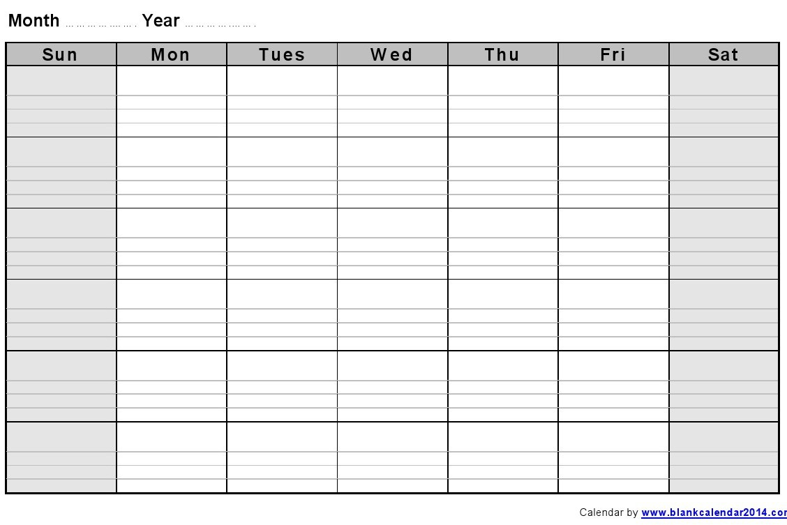 monthly calendar template with lines monthly calendar with lines monthly blank calendar notes landscape 2 ayshxe iUSLFR